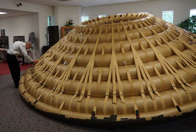 NASA researchers have tested an almost 20-foot inflatable spacecraft heat shield in wind tunnels and laboratories.
