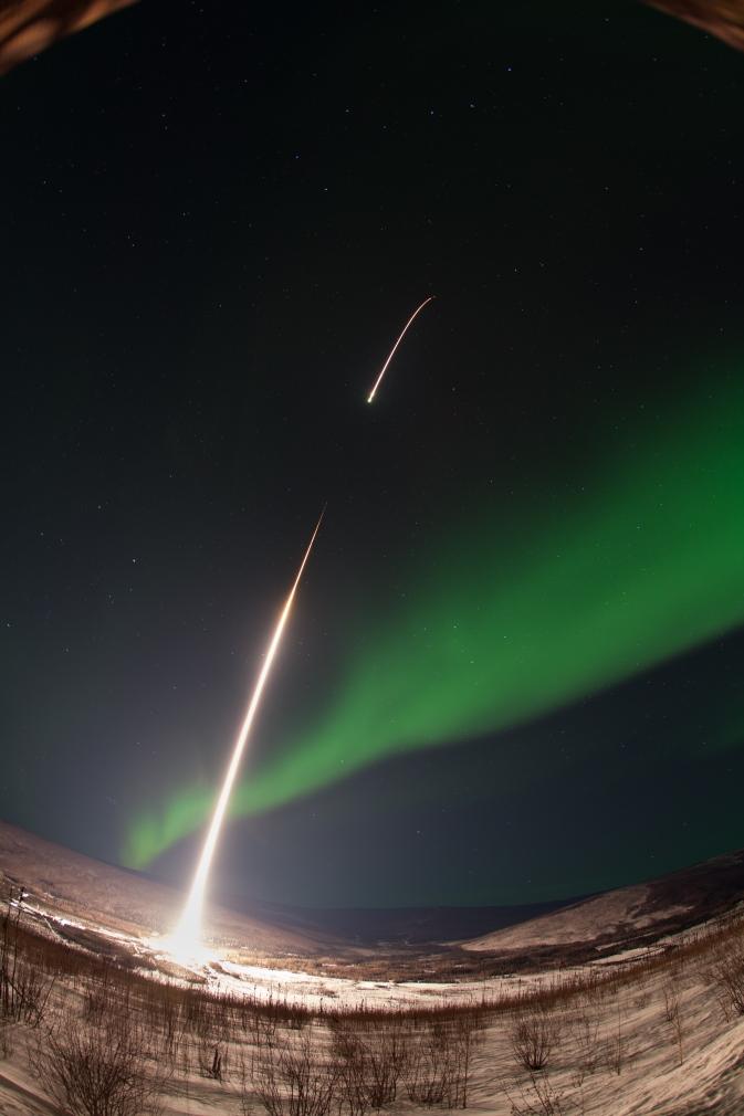 Sounding Rocket Launches Into Aurora | NASA