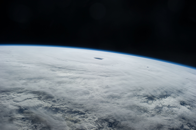 This is an astronaut photo of Supertyphoon Vongfong taken from the International Space Station on Oct. 9, 2014.