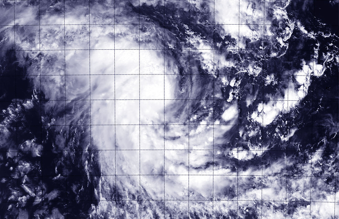 Suomi NPP satellite flew over Tropical Cyclone Kate on Dec. 24
