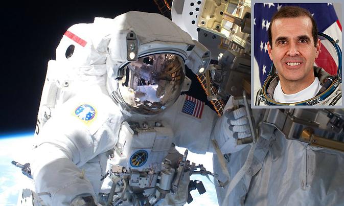 NASA astronaut Rick Mastracchio