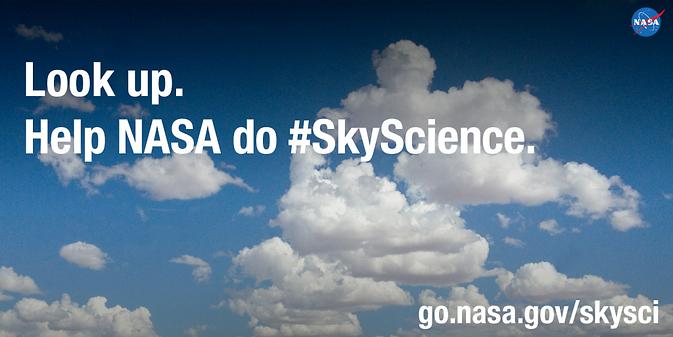 NASA Invites Public to Participate in #SkyScience