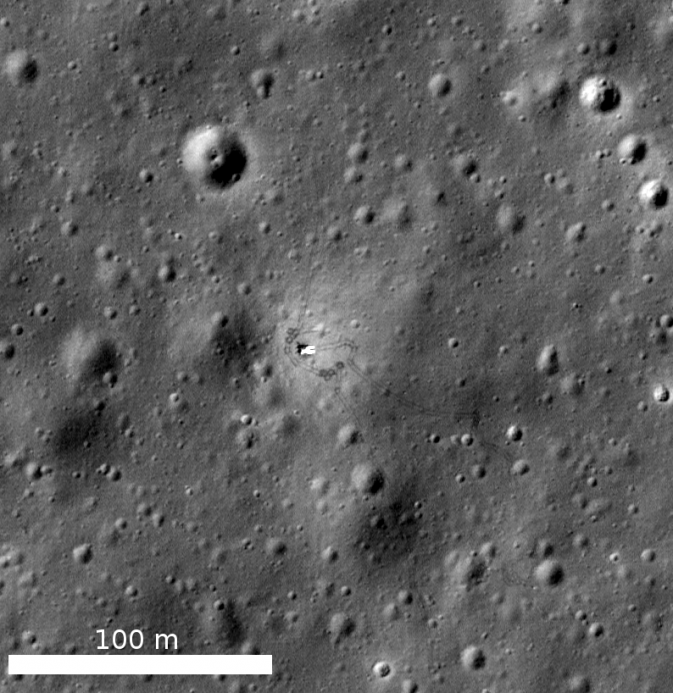 LRO image of Luna 17