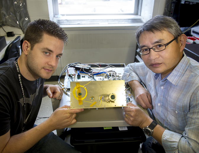 Nat Gill and Tony Yu are developing new lidar systems for satellite servicing and asteroid retrieval.