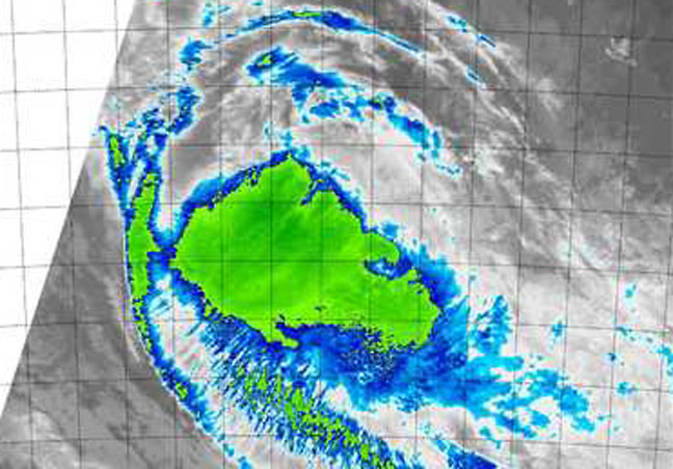 MODIS image of Ola