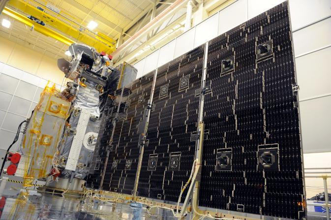 GPM Spreads Its Wings in Solar Array Deployment Test | NASA