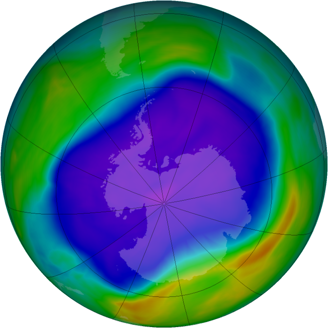 Ozone depleting chemicals persist