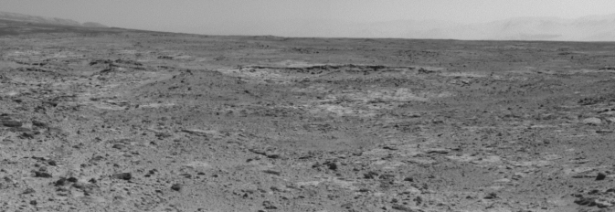 "Curiosity's view of ""Cooperstown"" outcrop"