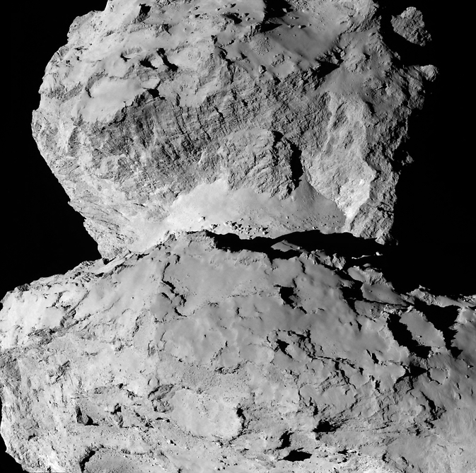 As Seen by Rosetta Comet Surface Variations NASA