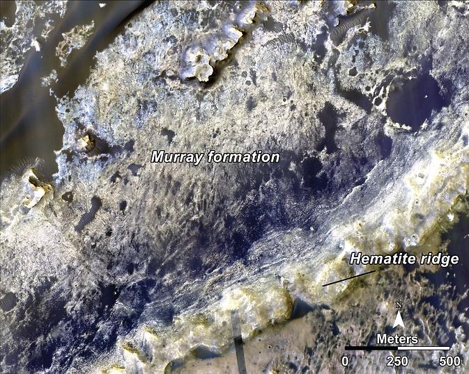 Mars telecon image