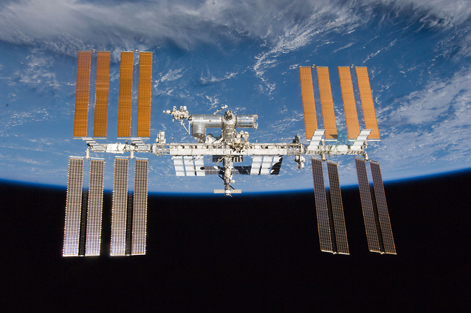 International Space Station in orbit
