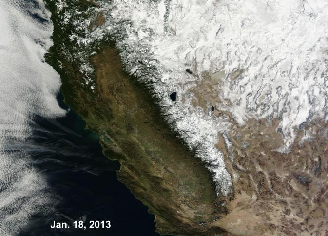 california drought nasa - photo #4