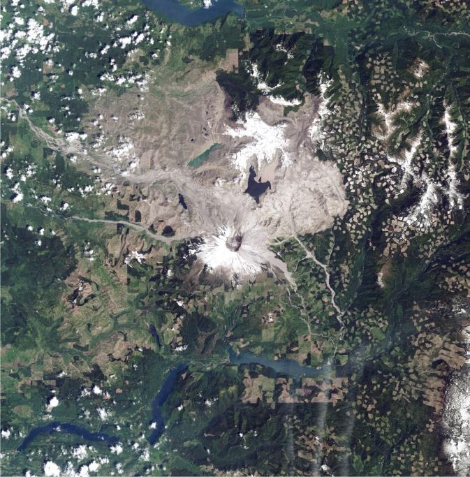 Sebelum Pemulihan Bencana Alam Satelit landsat