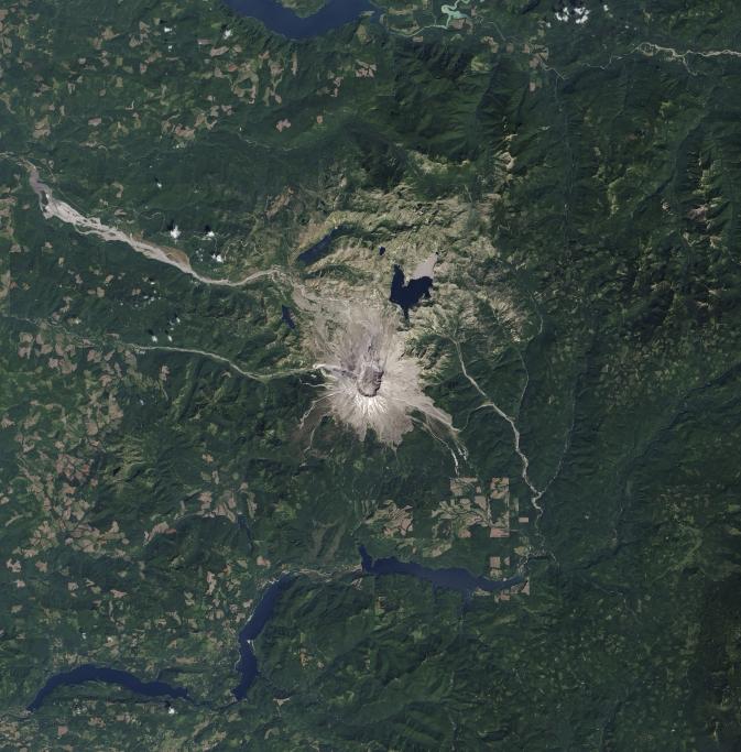 Setelah Pemulihan Bencana Alam Satelit landsat