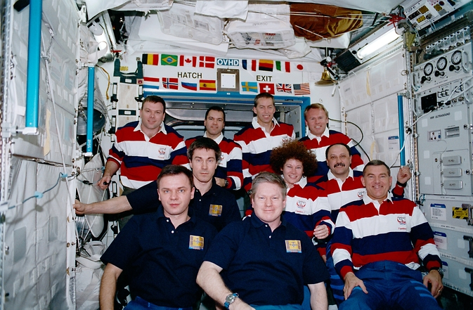 STS-102, Expedition One and Expedition Two crews