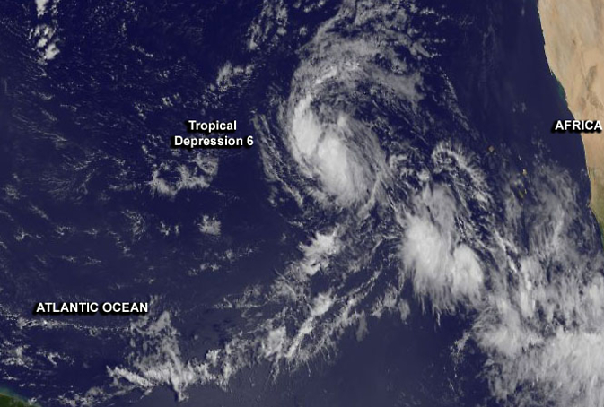 Tropical Depression 6