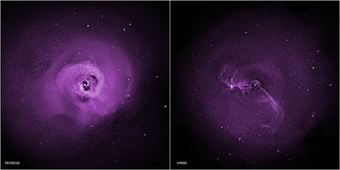 Chandra observations of the Perseus and Virgo galaxy clusters suggest turbulence may be preventing hot gas there from cooling, addressing a long-standing question of galaxy clusters do not form large numbers of stars.