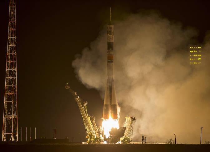 Soyuz TMA-16M launch