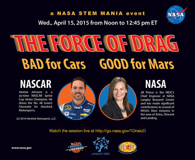STEM Mania Drag Flyer