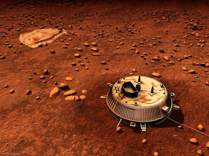 Vendredi 16 janvier 2015 Anniversaire de Huyghens sur Titan Huygensartistrendering_full_main