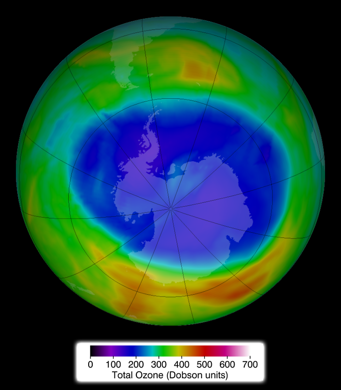 ozone concentrations on 11 Sept. 2014