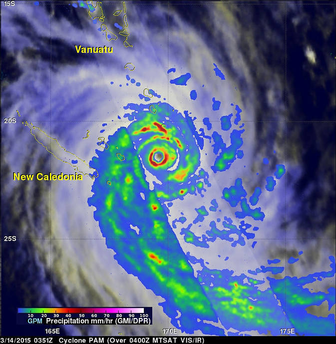 GPM image of Pam
