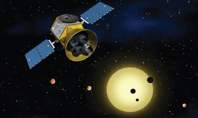 Image result for transiting exoplanet survey satellite