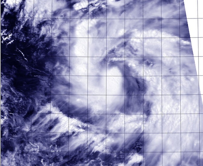 MODIS image of Phanfone