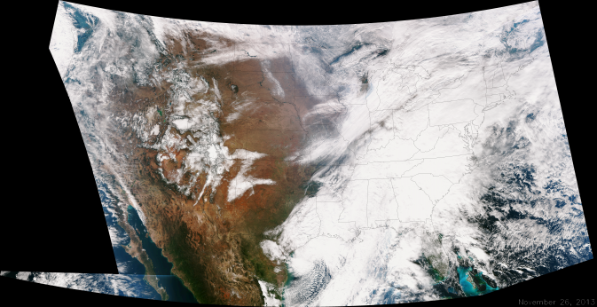 Suomi NPP image of Continental United States