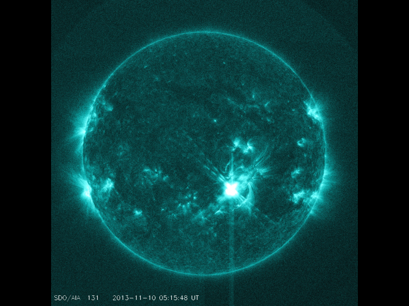 solar flares today nasa warning - photo #6