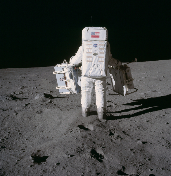 Buzz Aldrin Deploys Apollo 11 Experiments | NASA