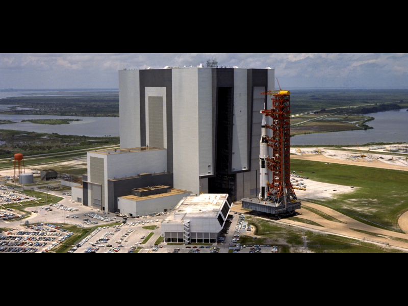 Vehicle Assembly Building Prepared For Future Nasa
