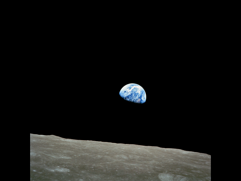 Forty-Fifth Anniversary of 'Earthrise' Image | NASA