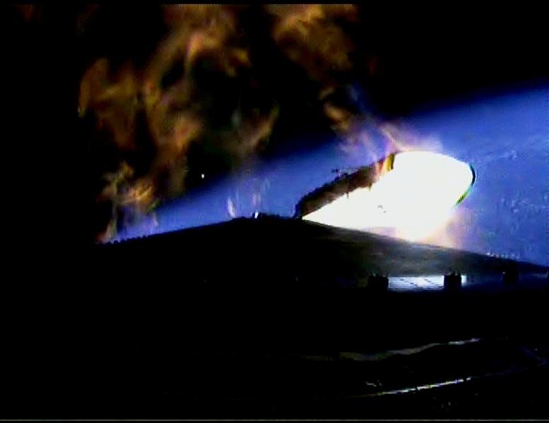 Delta IV Booster Separation | NASA