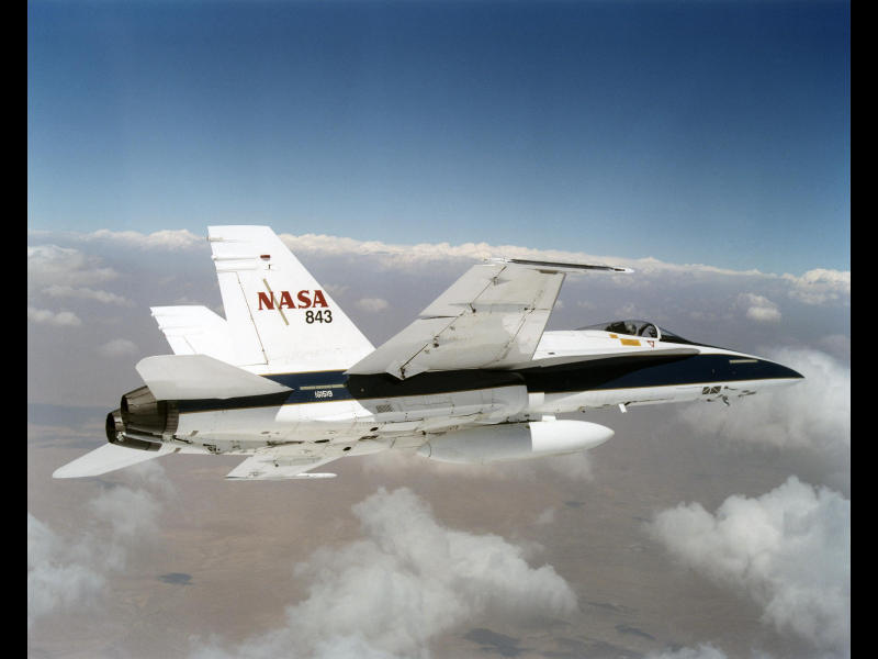 F/A-18 Chase Aircraft | NASA