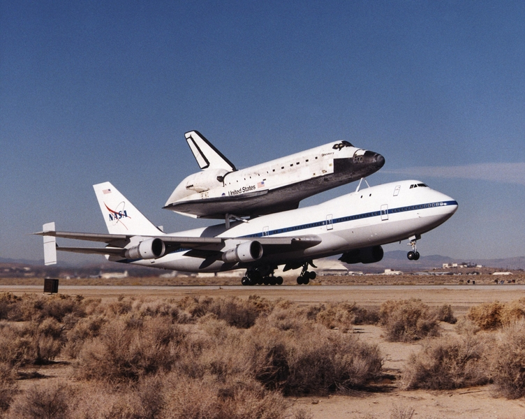 kelly afb space shuttle carrier aircraft - photo #45