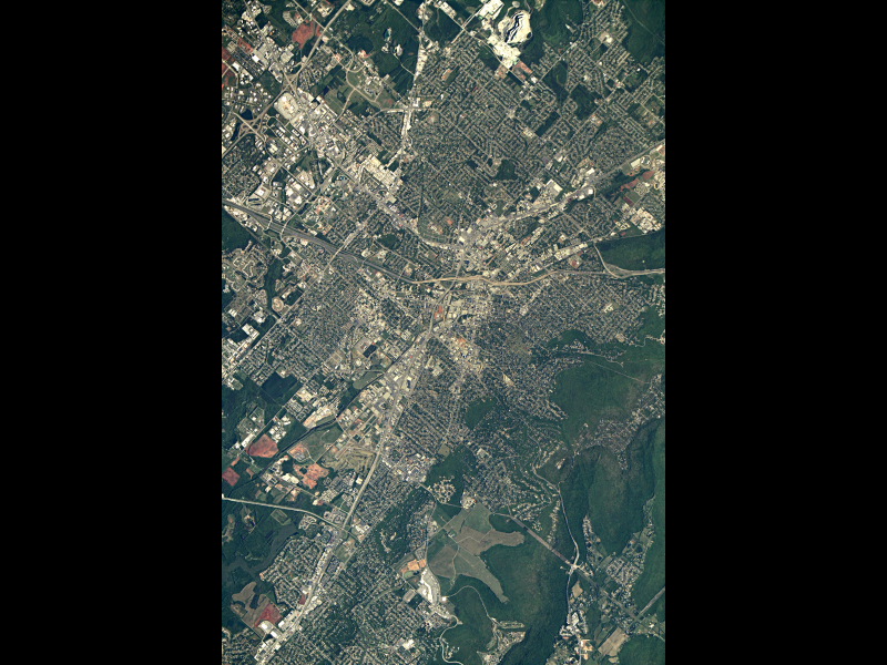 Huntsville, Alabama From Space | NASA