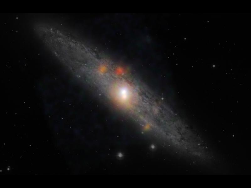Black Hole Naps Amidst Stellar Chaos | NASA
