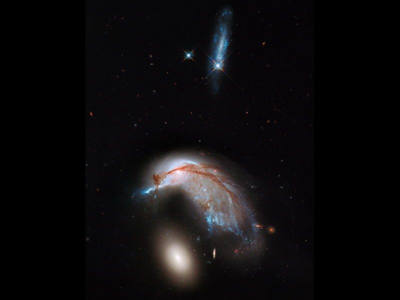 hubble telescope galaxies colliding - photo #20
