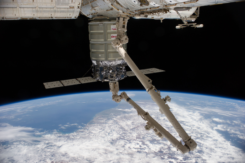 Cygnus Berthed to Space Station | NASA