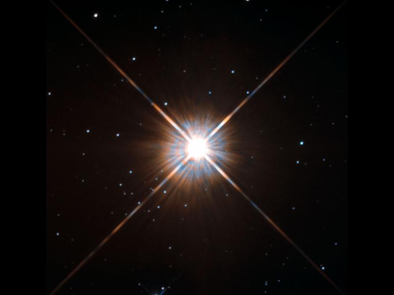 Hubble U0026 39 S New Shot Of Proxima Centauri  Our Nearest