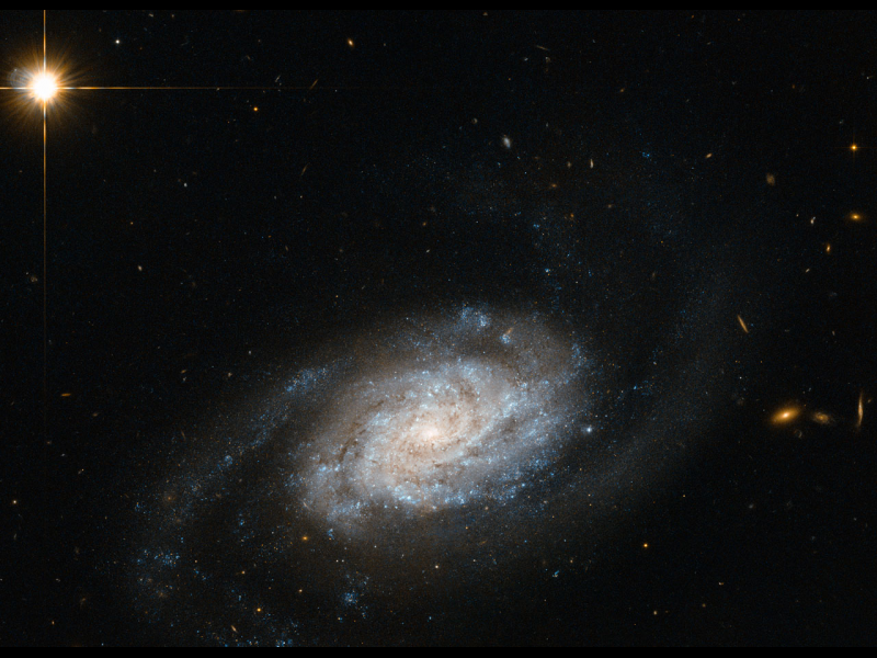Hubble Sees Galaxies Spiraling around Leo | NASA