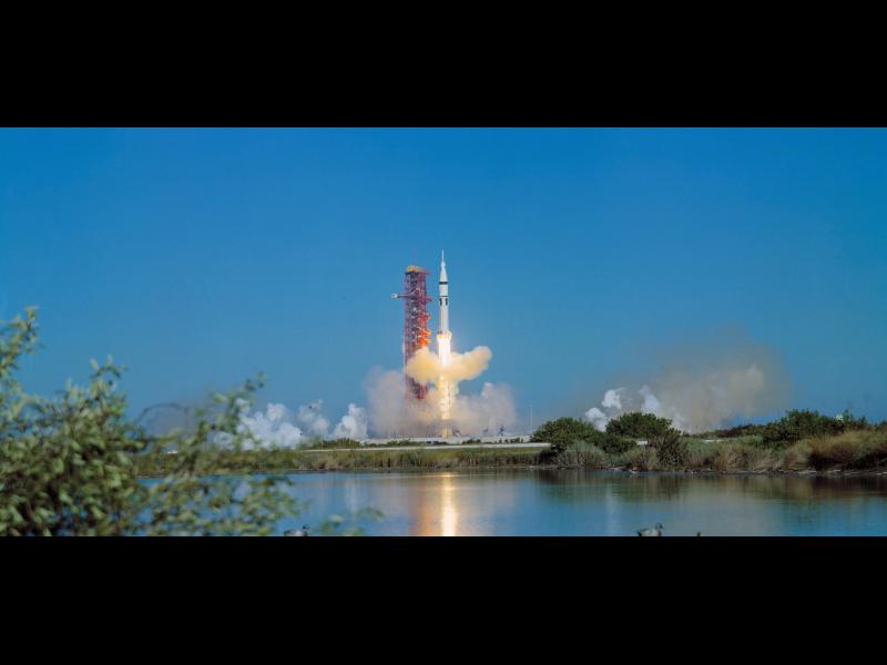 Skylab 4/Saturn 1B Space Vehicle Launch | NASA