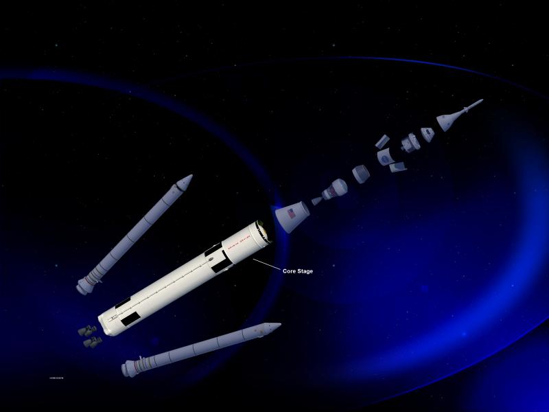 Artist Rendering, SLS 70 Metric Ton Configuration | NASA