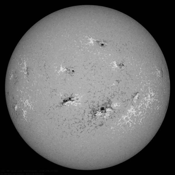 Sunspots and Magnetic Fields | NASA