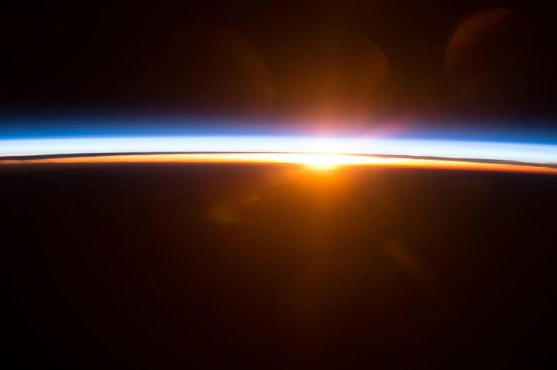 shuttle nasa sunrise - photo #5