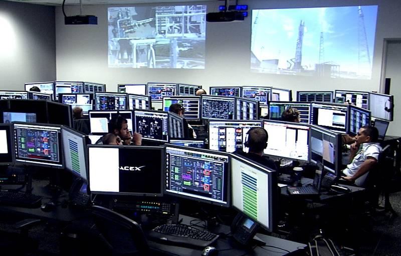 Launch Control At Cape Canaveral Nasa