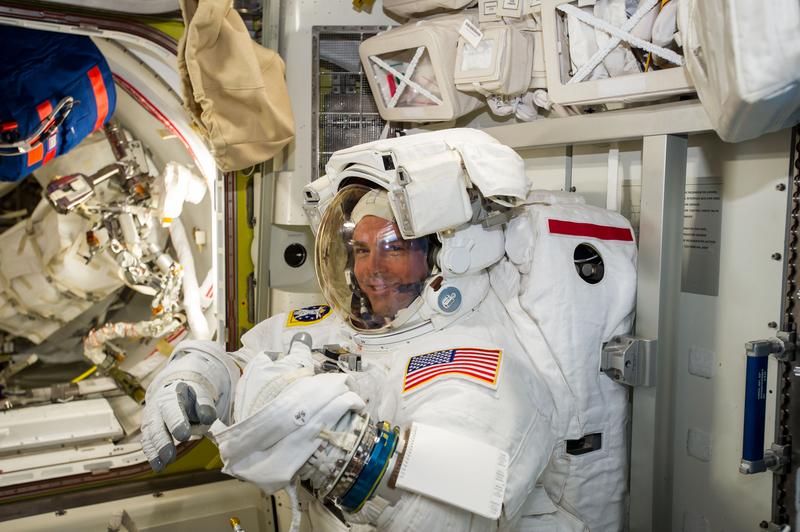 Preparing For a Spacewalk | NASA