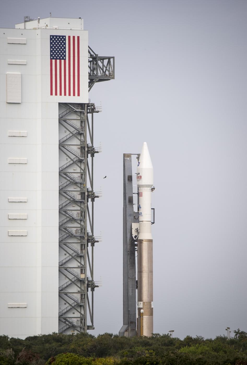MAVEN at launch pad. Credit: NASA/Bill Ingalls