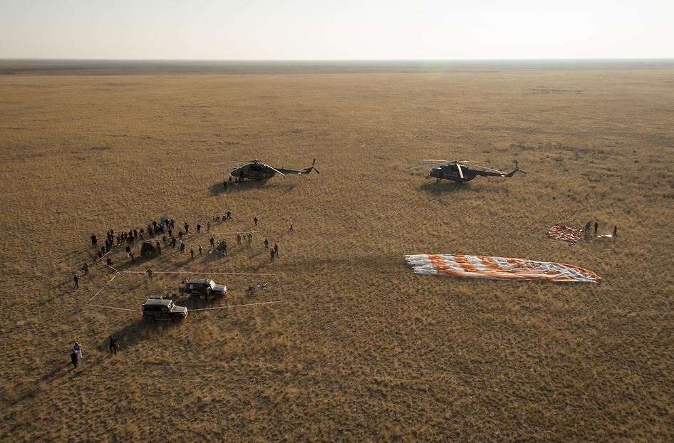 russian spacecraft landing - photo #8